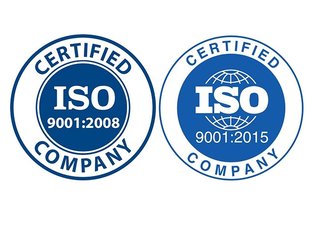 Phiên bản của chứng nhận ISO 9001