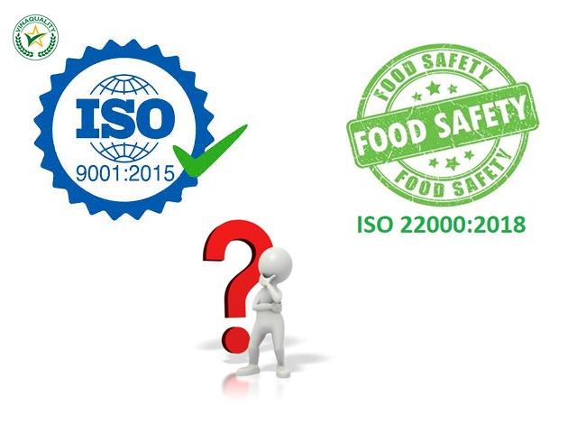 Sự khác nhau giữ ISO 9001 và ISO 22000